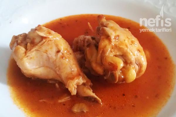 Salçalı Tavuk Baget Tarifi