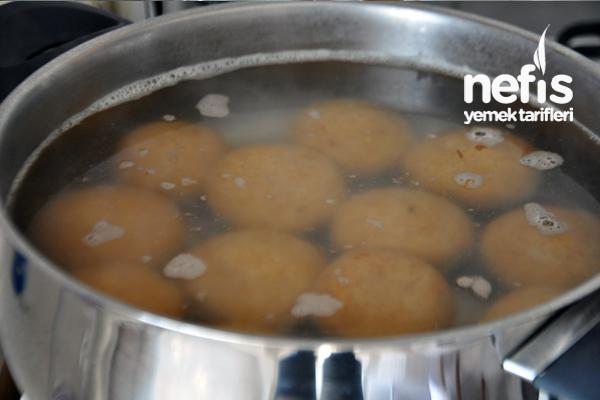 İçli Köfte Tarifi pişirme