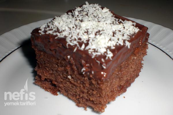 Pudingli Pratik Yaş Pasta Tarifi - Nefis Yemek Tarifleri