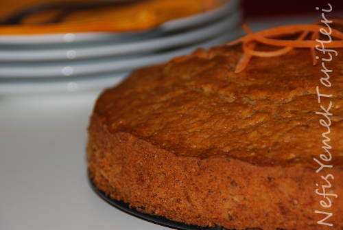 Havuçlu Cevizli kek Tarifi, Nefis Kek Tarifleri