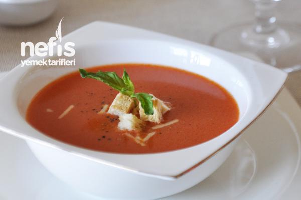 Sütlü Domates Çorbası - Nefis Yemek Tarifleri