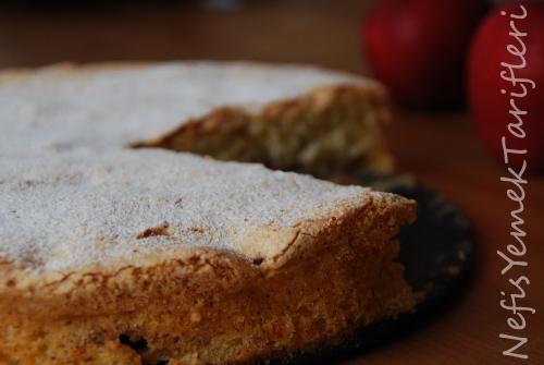 elmalı şarlot tarifi, kek tarifleri