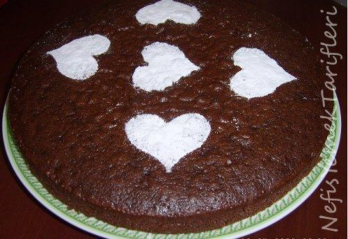 Kakaolu Elmalı Kek Tarifi