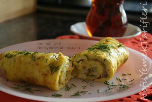 İki Peynirli (Dereotlu) Omlet