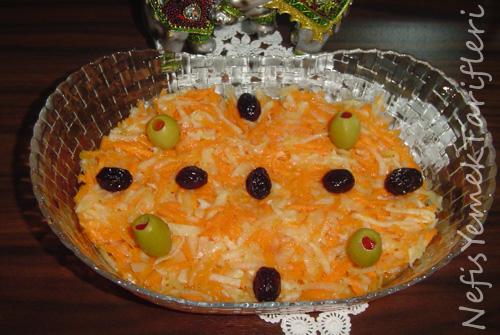 Havuçlu Turp Salatası Tarifi