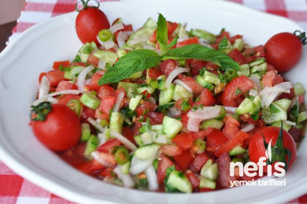 çoban salata tarifi