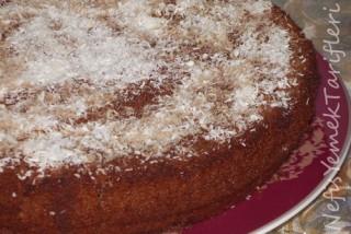 hindistan cevizli ıslak kek tarifi