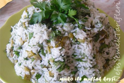 Pirinç Salatası (Çin Pilavı) Tarifi