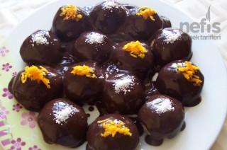 Çikolata Soslu Elma Topları Tarifi
