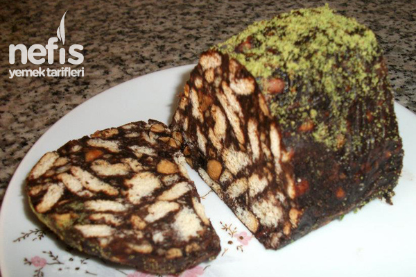 Vişneli Mozaik Pasta Tarifi