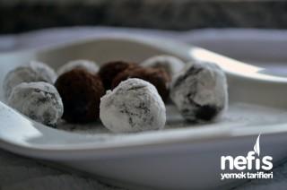 Kakaolu Cevizli Bisküvi Topları Tarifi