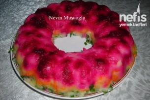 Renkli Patates Salatası (Gök Kuşağı Salatası) Tarifi