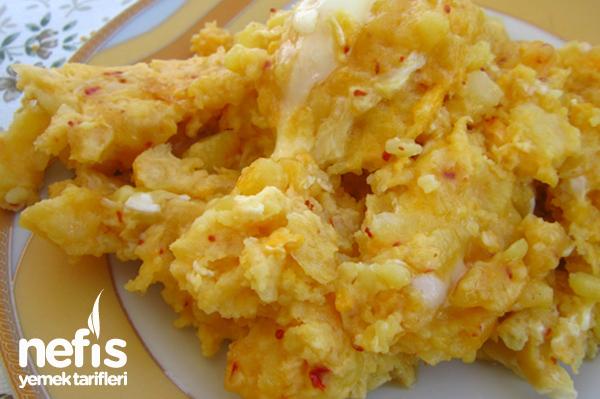 Haşlanmış Patatesli Yumurta Tarifi