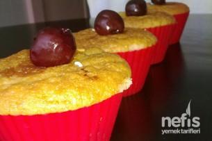 Limonlu Vişneli Muffinler Tarifi