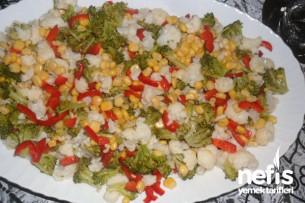 Karnıbahar-Brokoli Salatası Tarifi