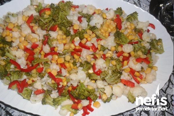 Karnıbahar-Brokoli Salatası