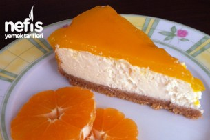 Mandalina Soslu Cheese Kek Tarifi