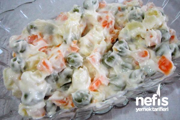 Rus Salatası Tarifi - Nefis Yemek Tarifleri