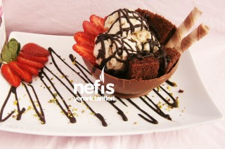 Çikolata Kasesinde Fındıklı Kek Tarifi