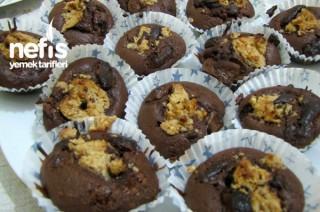 Çikolatalı Fındık Ezmeli Top Kek Tarifi