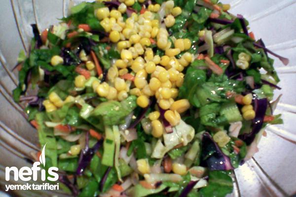 Mevsim Salatası (Kış salatası) Tarifi