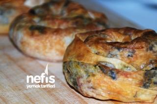 Pastırmalı Ispanaklı Gül Böreği Tarifi