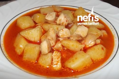 Tavuklu Patates Yemekleri Tavuklu Patates Yemeği Nefis