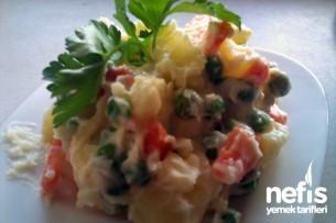 Rus Salatası Yapılışı Tarifi