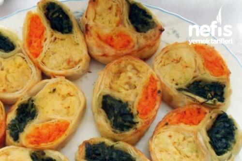Üç Renkli Börek Tarifi Videosu