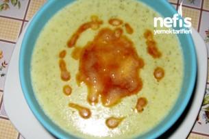 Buğdaylı Brokoli Çorbası Tarifi
