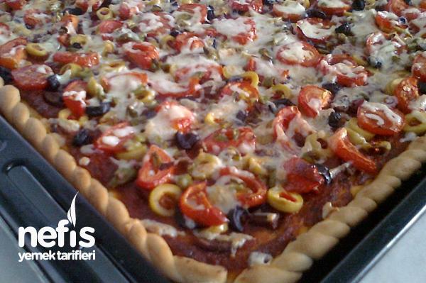 Kahvaltı Pizzası Tarifi