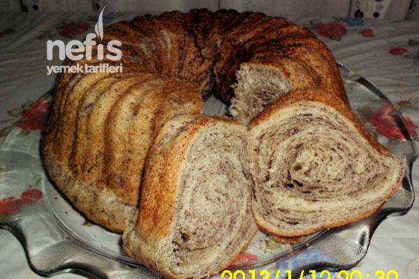 Kek Kalıbında Haşhaşlı Çörek Tarifi