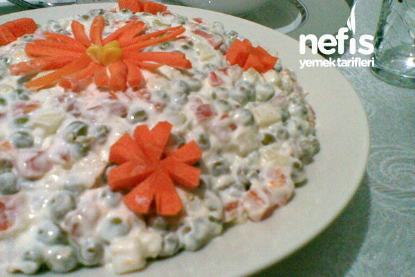 Rus Salatası (Olivye Salatası) Tarifi