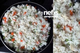 Sebzeli Tavuklu Pirinç Pilavı Tarifi