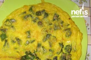 Yeşil Biberli Omlet Tarifi