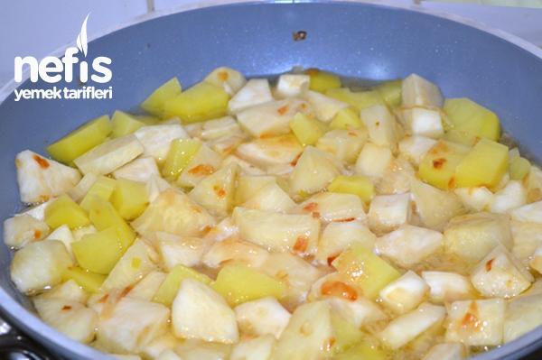 Zeytinyağlı Terbiyeli Kereviz Yemeği 1