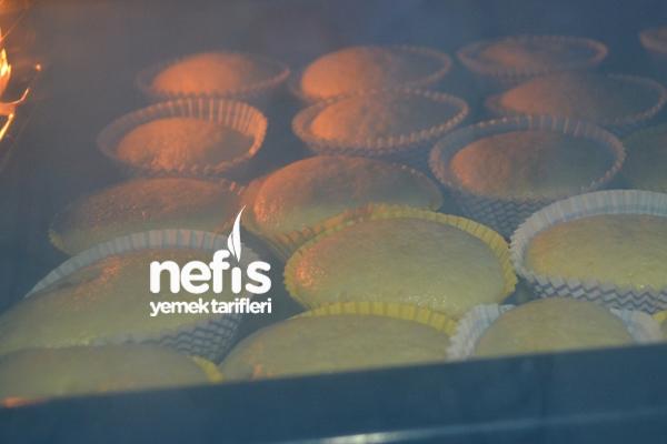 Cevizli Damla Çikolatalı Muffin4
