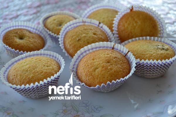 Cevizli Damla Çikolatalı Muffin5