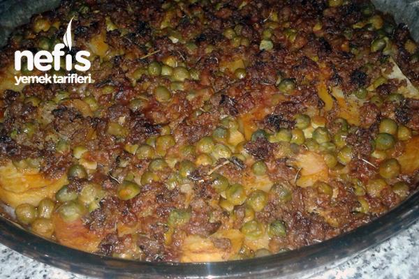 Fırında Bezelyeli Patates Yemeği Tarifi