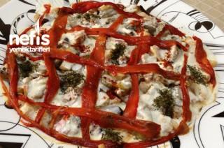 Kıtır Ekmekli Patlıcan Salatası Tarifi