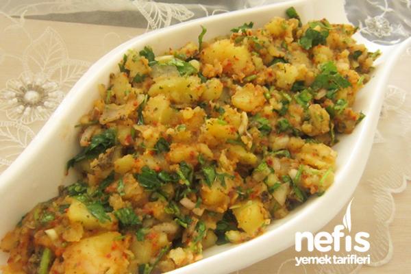 Patates Salatası Yapılışı