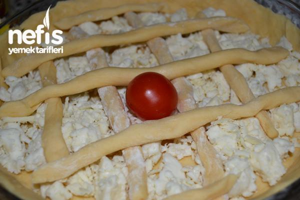 Peynirli Domatesli Tart 2