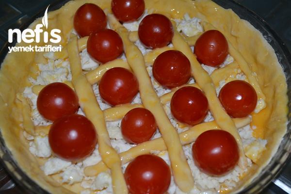 Peynirli Domatesli Tart 3