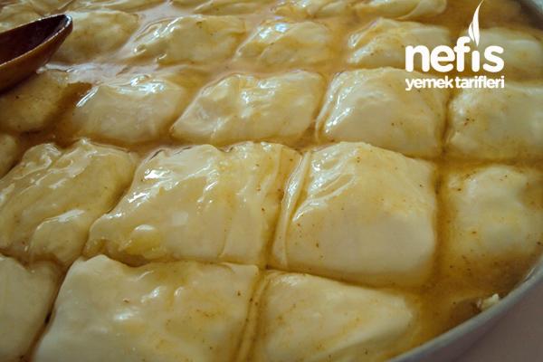 Peynirli El Açması Börek 2