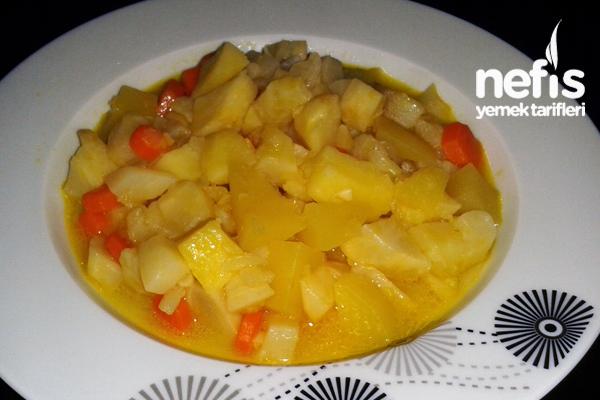 Portakallı Kereviz Yemeği (videolu) Tarifi