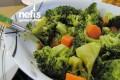 Sarımsaklı Brokoli Salatası Tarifi