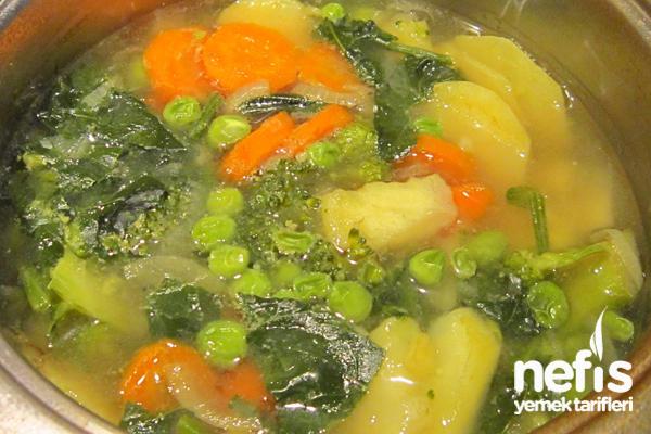 Sebze Çorbası Yapımı 1