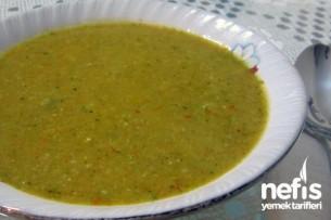 Sebze Çorbası Yapımı