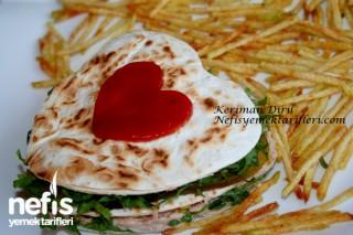 Ton Balıklı Kalp Sandviç Tarifi
