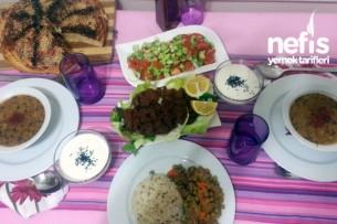 Akşam Yemeği Menüsü 4 Tarifi